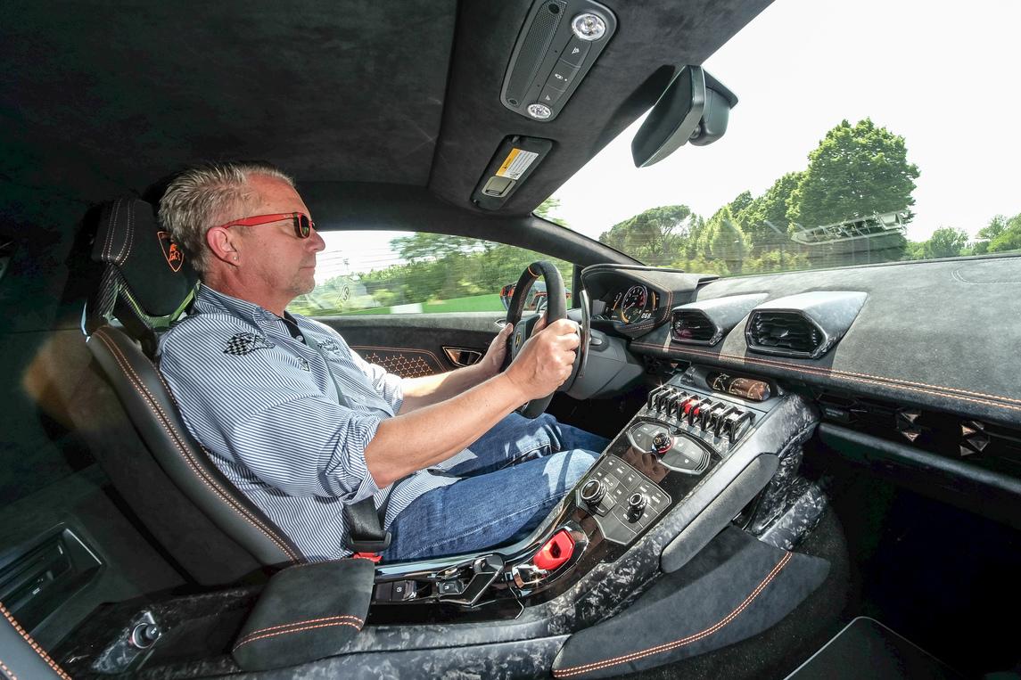 Dieter Loskarn Lamborghini interior