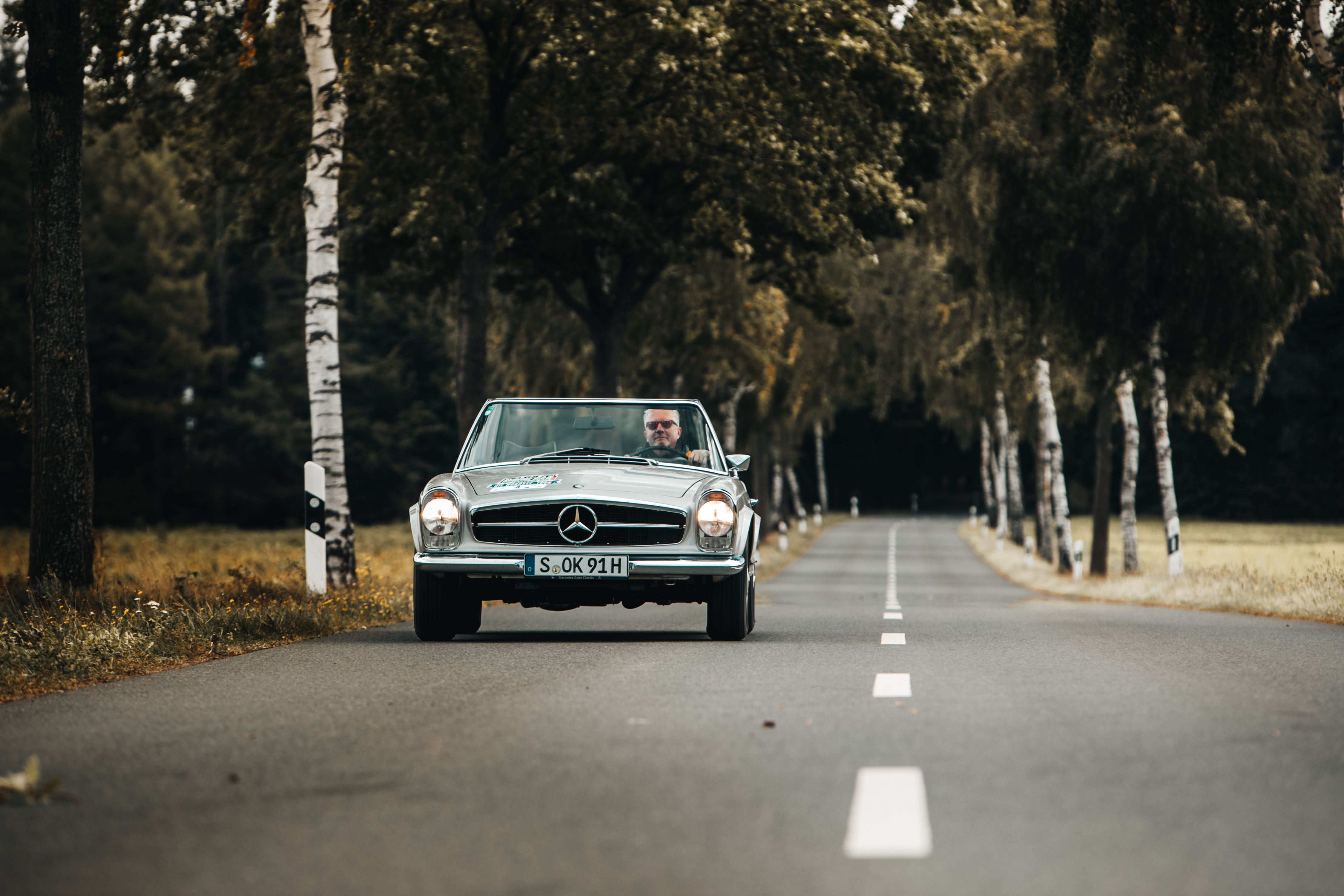 8cd46d3bdd Back in time – Mercedes-Benz 280 SL Pagoda – Dieter Losskarn
